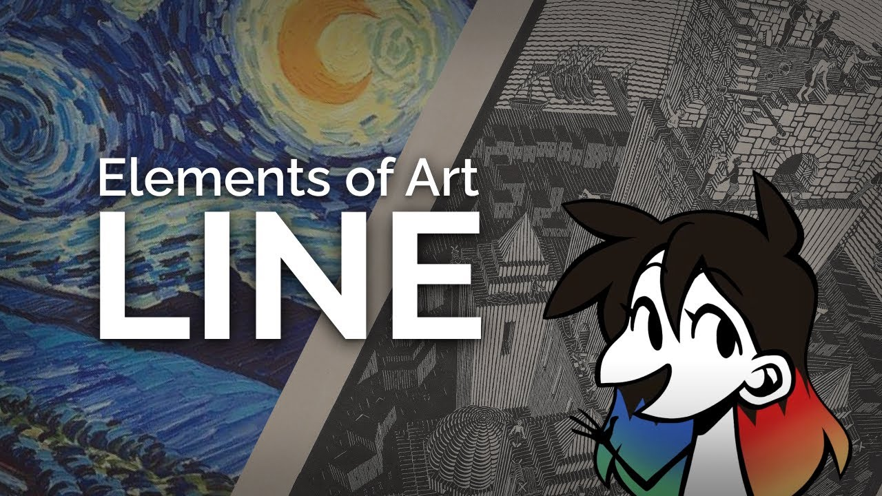 LINE: Elements of Art Explained in 5 minutes (funny!)