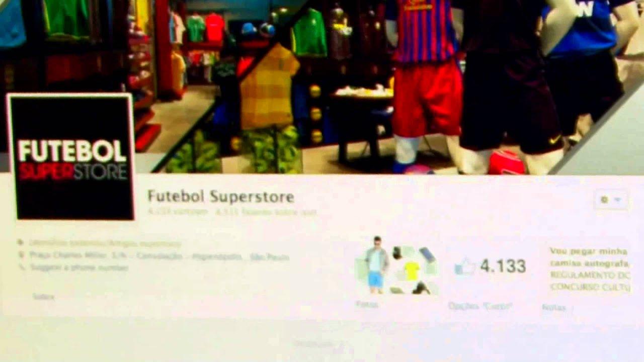 fa6adfb208 Concurso Cultural na página Futebol SuperStore - YouTube