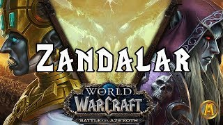 Zandalar: The Movie - ALL CUTSCENES [8.0.1 Battle for Azeroth]
