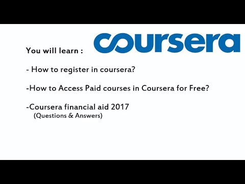 Coursera free courses with certificates