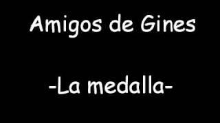 Amigos de Gines- La medalla. Sevillanas