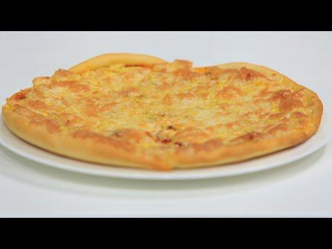 صورة  طريقة عمل البيتزا بيتزا | نجلاء الشرشابي طريقة عمل البيتزا بالفراخ من يوتيوب