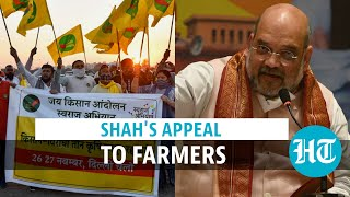 Watch: Amit Shah's message to protesting farmers as they camp in Delhi, border