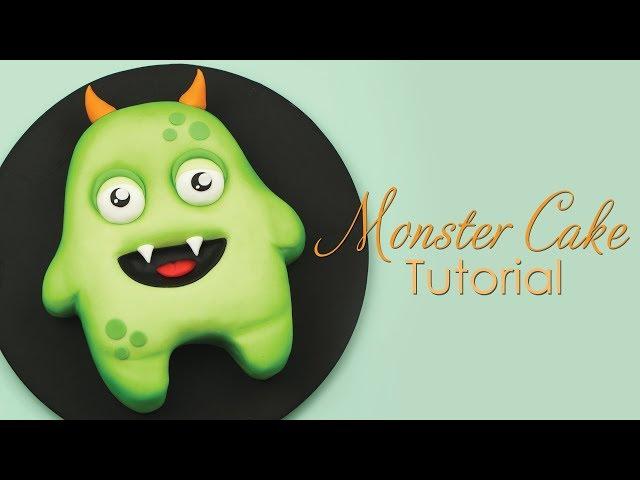 Halloween Monster Cake Decorating Tutorial
