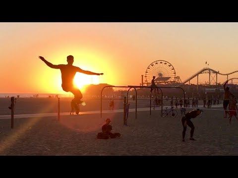 Fun People at Original Muscle Beach (OMB) ~ Santa Monica ~ Part 3