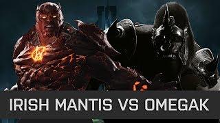 Injustice 2 - High Level FT10 - Irish Mantis (Atrocitus) vs OmegaK (Gorilla Grodd)