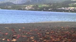 Explore the Black Sand beach in Martinique with Eva