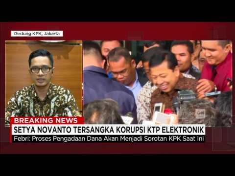 KPK Siap Hadapi Perlawanan Hukum Terkait Penetapan Status Tersangka Setnov, Setya Novanto