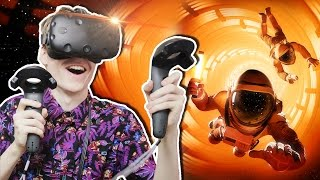 ADVENTURE CO-OP GAME IN SPACE! | Downward Spiral: Prologue VR (HTC Vive Gameplay)
