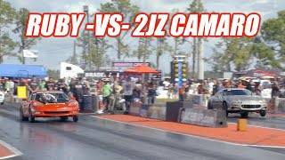 Racing Cooper In FL2K Eliminations!!! Ruby and the 240 Make Some RIPPIN Passes!!