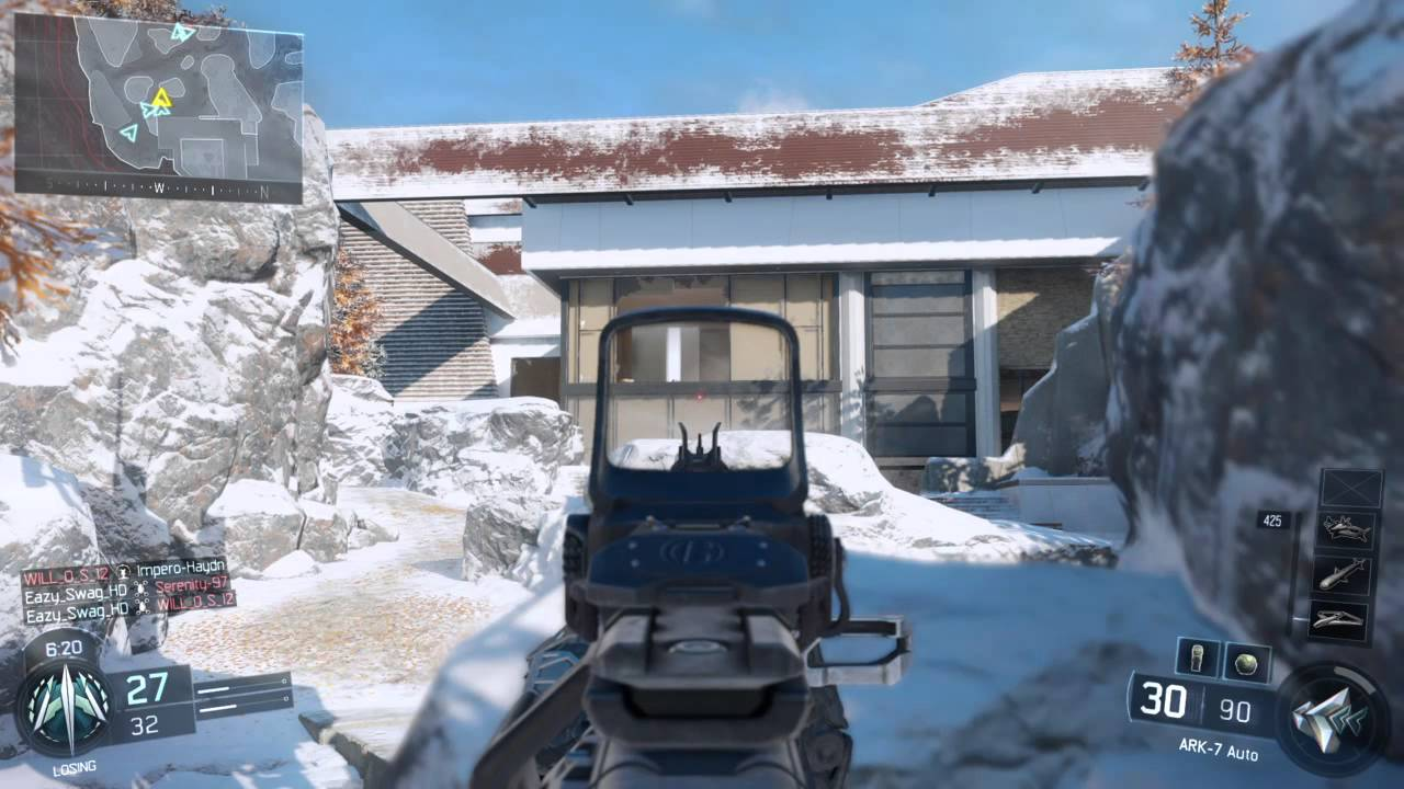 Call Of Duty Black Ops Iii 3 New Snow Map Stronghold Amazing