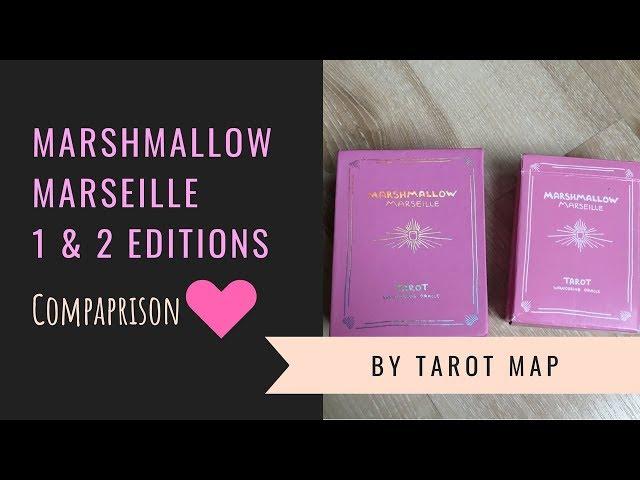 Marshmallow Marseille 1 & 2 edition/ comparison video