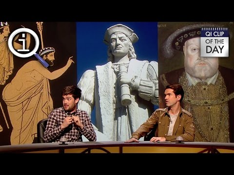 QI | What Did Christopher Columbus Take 80 Tonnes Of To America?
