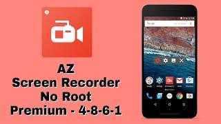 az screen recorder no root apk 4.4.2