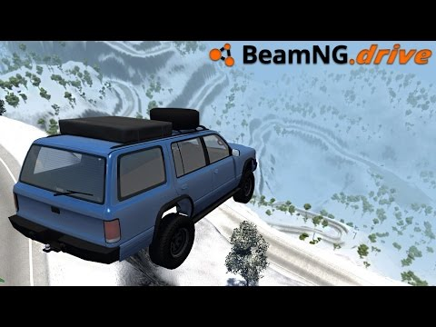 BeamNG.drive - SNOWY MOUNTAIN