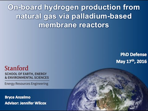 Stanford University - Energy Resources Engineering - PhD defense
