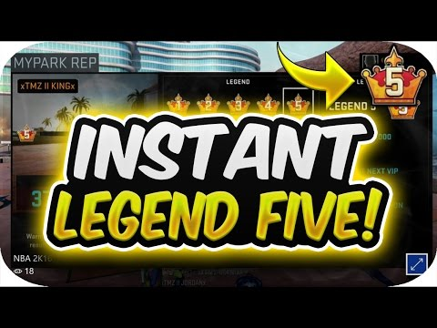 NBA 2K16 INSTANT LEGEND FIVE GLITCH/METHOD WITH PROOF!