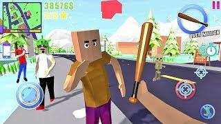 Dude Theft Wars Open World Sandbox Simulator BETA #12 - Android gameplay