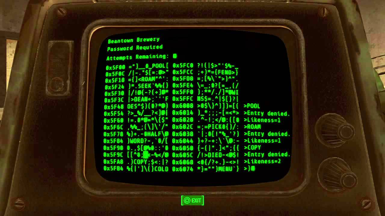 Fall Live Wallpaper For Pc Ps4 Fallout 4 Terminal Hacking Dkbarber Youtube