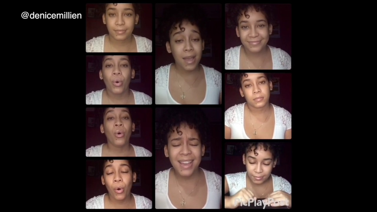 Ed Sheeran Shape Of You Acapella Cover By Denice Millien