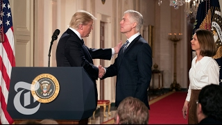 President Trump Announces Supreme Court Pick | The New York Times