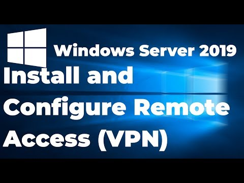 24. Install And Configure Remote Access VPN On Windows Server 2019