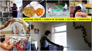 Moving Preps | Summer Special Lunch Thali | Indian Pregnant Mom's Afternoon Routine | 3rd Trimester