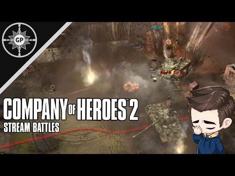 Panzer Fortifications Company Of Heroes 2 Replays 25 Youtube