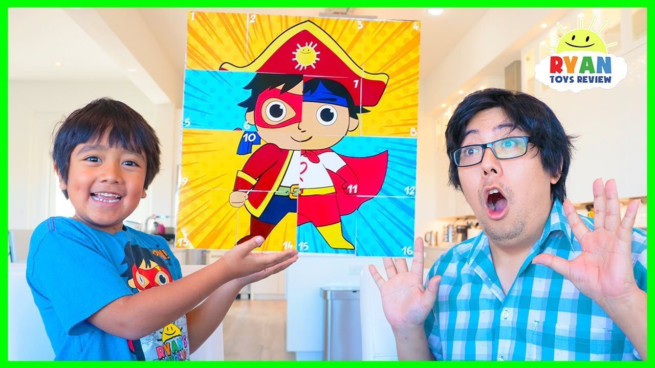 Download Ryan Pretend Play with Sticker Toys Sticki Mix-Upz and Sticky Mosaics!!!