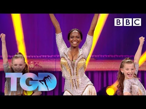 KLA and Oti shake it out in their duet - The Greatest Dancer Final | LIVE