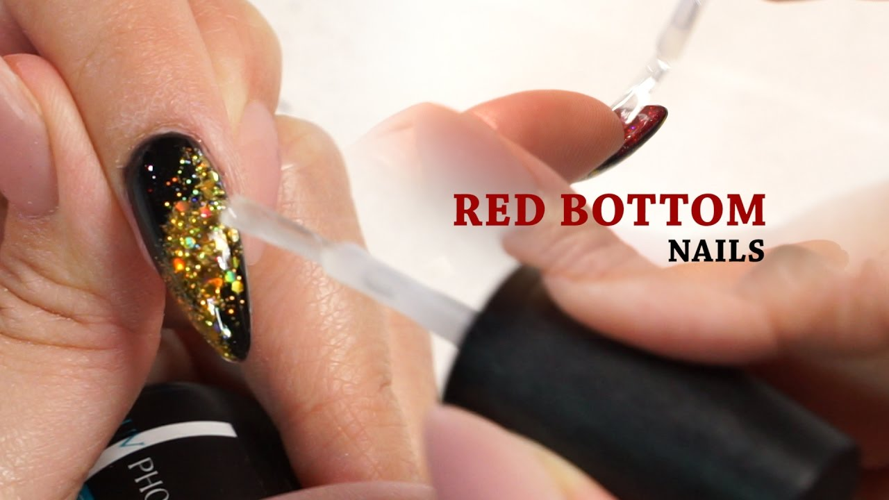 cfb6f968199 Red Bottom Nails Tutorial with Ann Chang