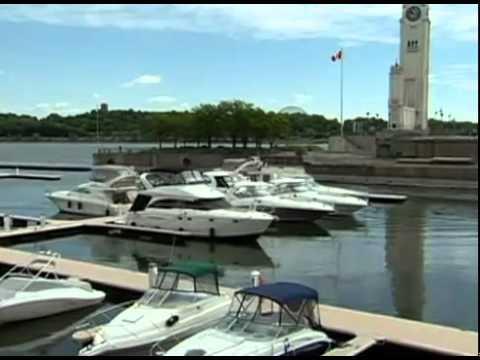 Port descale - Marina du Vieux-Port de Montréal