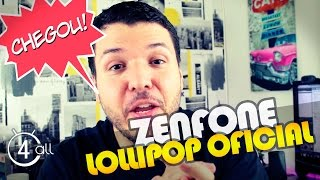 Asus Zenfone 5 e 6 - Como atualizar Android Lollipop 5.0 Oficial