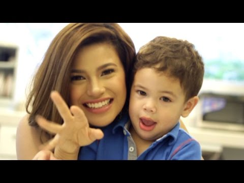 Behind the Scenes with Denise Laurel and Alejandro for SP August 2013