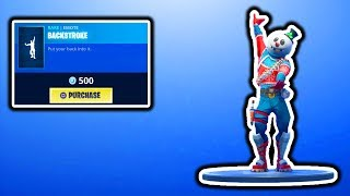 FORTNITE NEW BACKSTROKE EMOTE! FORTNITE ITEM SHOP UPDATE! FREE SEASON 7 BATTLE PASS GIVEAWAY