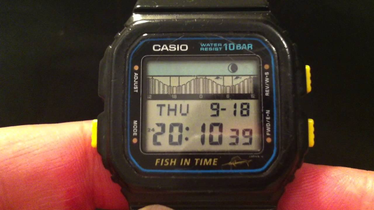 Casio FT 100 Fish In Time