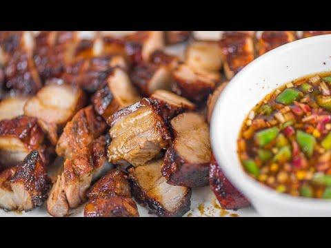 Inihaw na Baboy (Grilled Pork Belly) - Panlasang Pinoy