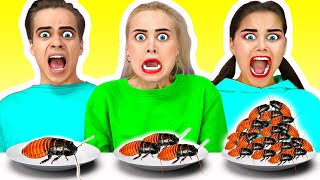 Big, medium or Small Plate Challenge on Halloween