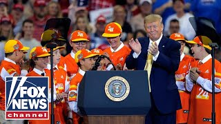 Trump honors 2019 Little League World Series champions at rally