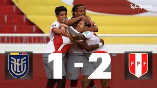 Ecuador 1-2 Perú | Eliminatorias a Qatar 2022 - Fecha 8