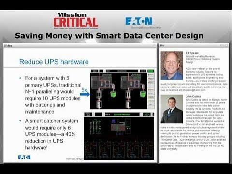 Saving money with smart data center design