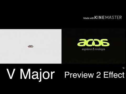 Acer Logo Comparison ( V Major Vs Preview 2 Effect)
