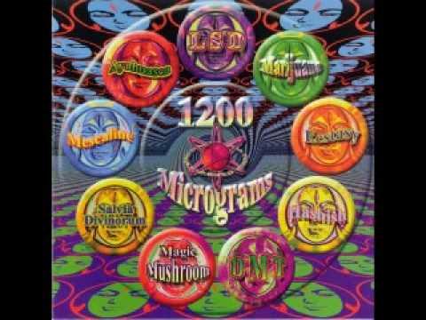 1200 micrograms- Magic mushroom
