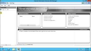 How to install and configure asp.net website on IIS 8 in windows server 2012