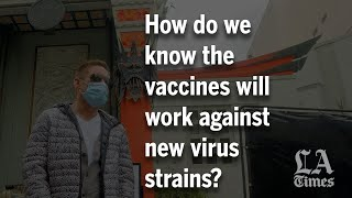 Asked and answered: How do we know the vaccines will work against virus variants?