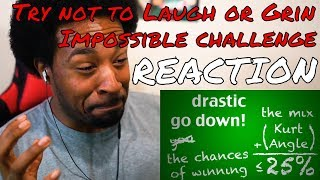 TRY NOT TO LAUGH OR GRIN CHALLENGE (IMPOSSIBLE) REACTION - DaVinci REACTS