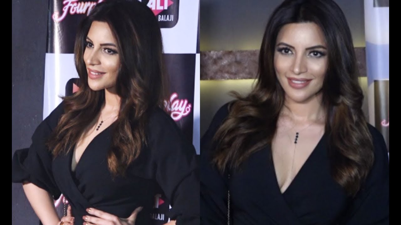 Shama Sikander Hot At Alt Balaji New Web Series Four Play Launch