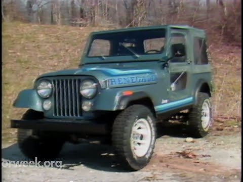 MotorWeek | Retro Review: '81 AMC Jeep CJ-7 - YouTube