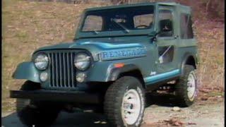 MotorWeek | Retro Review:  '81 AMC Jeep CJ-7
