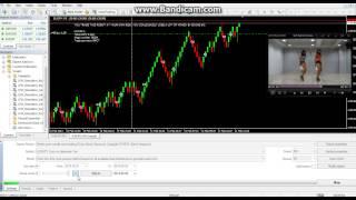 RENKO CHART EUR/JPY , box size 40, spread 20